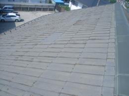 施工前の屋根の様子です。