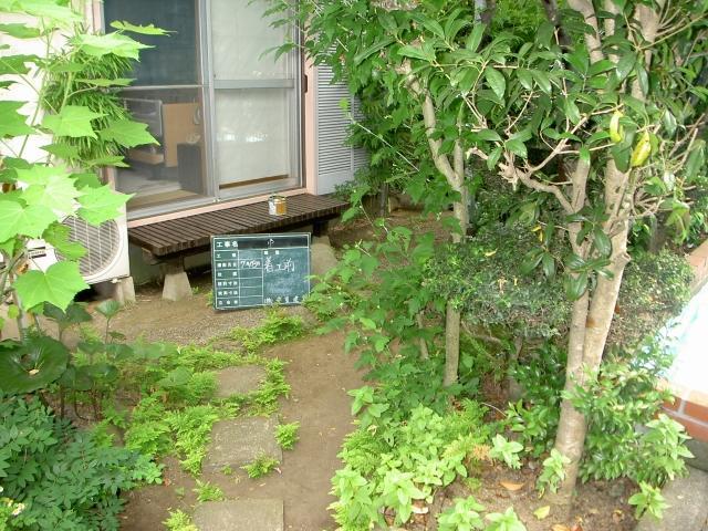 施工前のお庭の様子です。