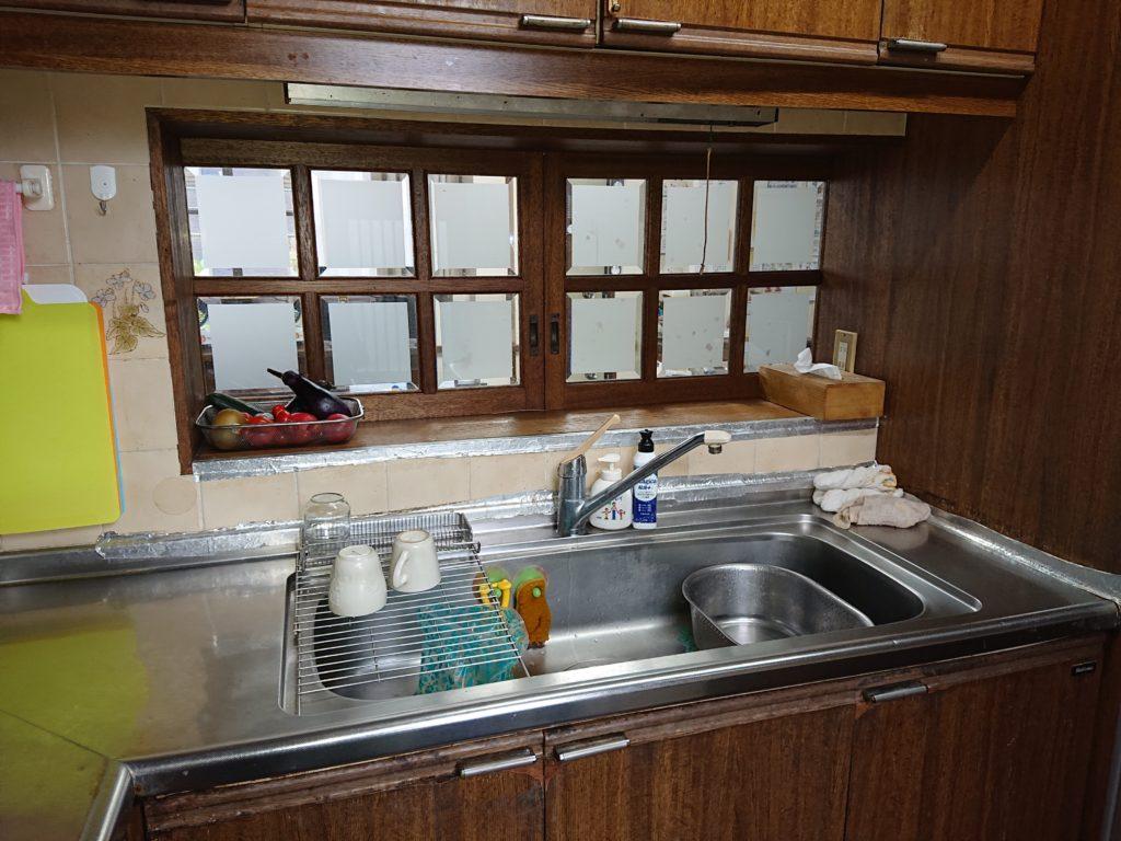 水栓の不具合のご相談からスタートしてのキッチンフルリフォームでした。