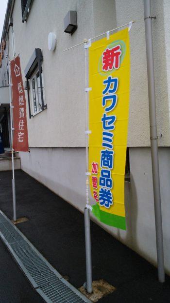 6月末にカワセミ商品券!!