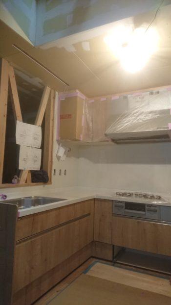 低燃費住宅新築工事 木工事完了・・・
