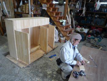 林大工さん☺の家具製作完了!